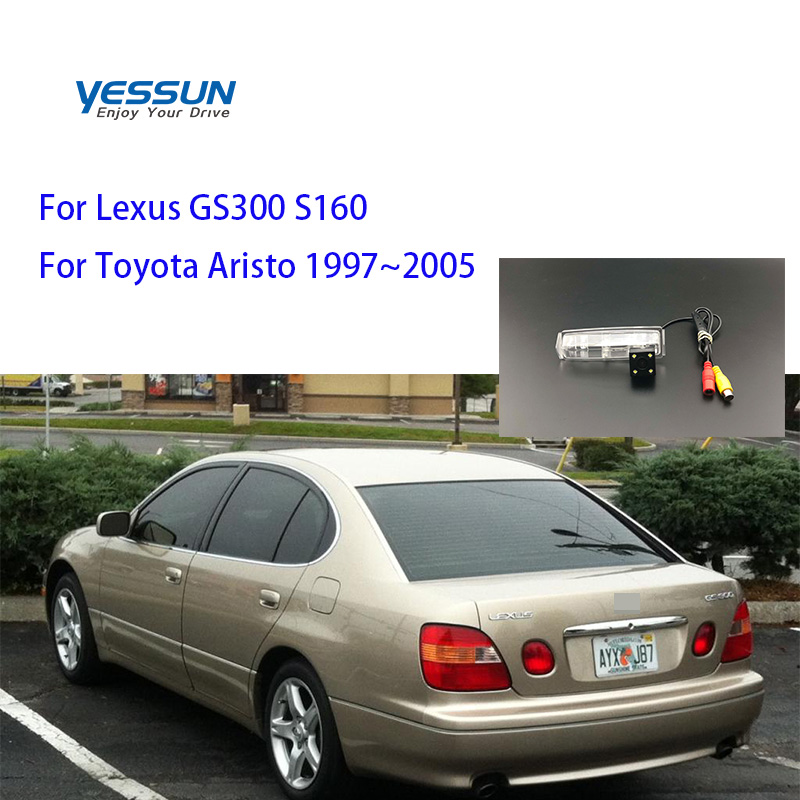 Yessun License Plate Camera For Lexus GS300 S160 For Toyota Aristo 1997~2005 Car Rear View Camera Parking Assistance