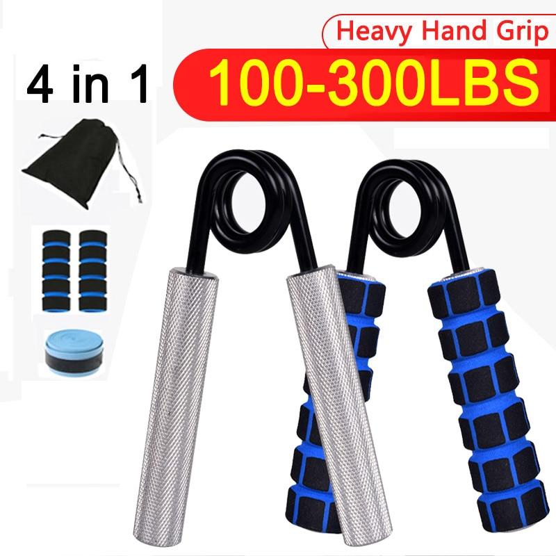 Heavy Hand Grip Finger Carpal Strengthen Rehabilitation Trainer Expander Arm Forearm Workout Gym Wrist Muscle Fitness Equipment
