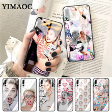 YIMAOC Miley Cyrus Soft Rubber Glass Case for Huawei P10 lite P20 Pro P30 P Smart honor 7A 8X 9 10 Y6 Mate 20