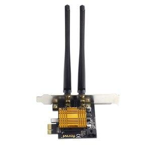 Image 5 - Fenvi n600 듀얼 밴드 600 mbps pci 익스프레스 무선 어댑터 wifi 블루투스 4.0 킬러 1202 데스크탑 pc 용 wi fi 카드 pcie 네트워크