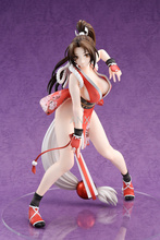 24CM Game KOF Character Mai Shiranui PVC Figure Action Model Toys Collectible Model Toys For Children Gift 18cm japanese game rage of bahamut mystere action figure collectible model toys for boys