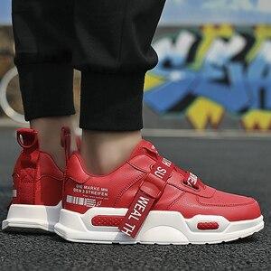Image 2 - Heren Chunky Sneakers Gesp Superstar Casual Schoenen Jongens Loopschoenen Man Schoeisel Trainers Gevulkaniseerd Groen Maat 11