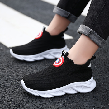 Sneakers Boys Shoes Kids Sport Shoes Lightweight Boys Girls Casual School Trainers Children Brand Breathable Shoes недорого