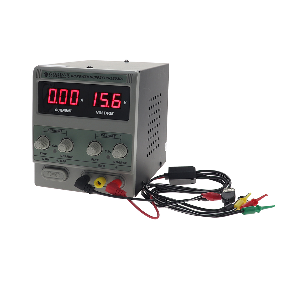 GORDAK <font><b>1502D</b></font> high precision adjustable DC constant current constant voltage regulated power supply 0-15V 2A output image