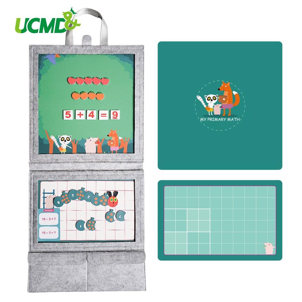 Nombre magnétique apprentissage des mathématiques jouets mathématiques comptage numéros Puzzle enseignement éducatif calcul jouet jeux aimants réfrigérateur