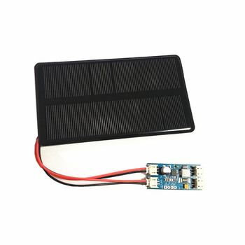 Mini 6V 210MA 1.25W Monocrystalline Silicon Solar Panel with solar charger/Solar Epoxy Panel  Photovoltaic Cell Phone Charging xinpuguang 600w solar system kit 6 100w solar panel monocrystalline silicon cell photovoltaic module home roof power generation