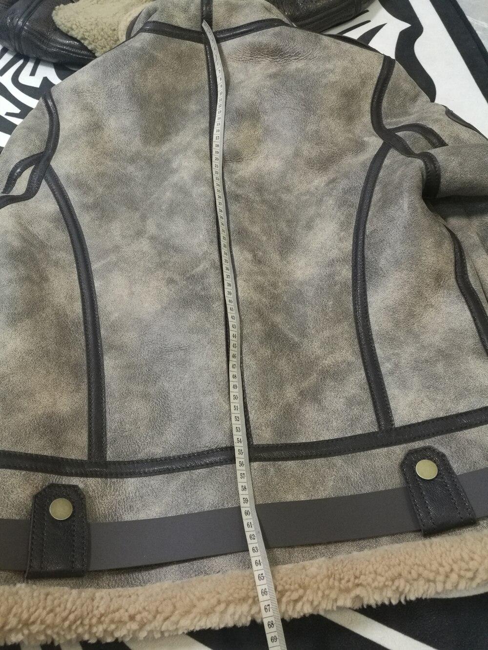 Hd5d3f3f91dfc4feb9825522621844af7a 2019 Fashion 100% Quality Real Sheepskin Fur Men Coat Genuine Full Pelt Sheep Shearling Male Winter Jacket Brown Men Fur Outwear