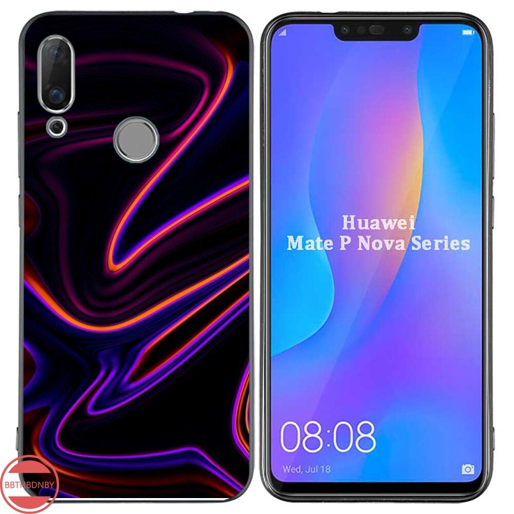 Holographische Prisma Laser farbe Nach Foto Weiche Telefon Fall Für Huawei NOVA 2 2i 2s 3i 4 4e 5 plus P10 lite 20 P20 pro honor10