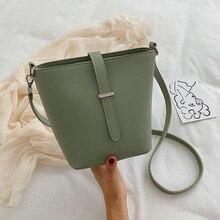 PU Handbag Messenger-Bags Women Bucket-Bag Totes Book-Girl Casual Fashion NEW
