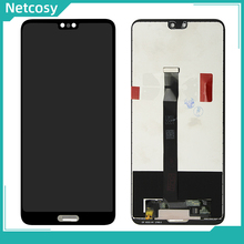 "Black LCD screen Display toque digitador Assembléia Substituição Para Huawei P20 EML AL00 EML L09 EML L22 EML L29 5.8 ""Reparação Tela"