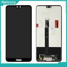 """שחור LCD תצוגת מסך מגע digitizer עצרת החלפה עבור Huawei P20 EML AL00 EML L09 EML L22 EML L29 5.8 """"מסך תיקון"""