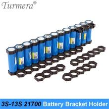 Turmera 10Piece 21700 Battery Holder Bracket 21700 Spacer 3S 4S 5S 6S 10S 13S Assemble for 36V 48V Electric Bike Lithium Battery