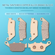 Moto métal frittage plaquettes de frein pour Honda CBR300 CB300F 2015 CB500F CB500X CBR500R CB 500F 500X 500R 2013-2018