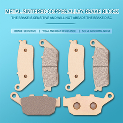 Motorcycle Metal sintering brake pads For Honda CBR300 CB300F 2015 CB500F CB500X CBR500R CB 500F 500X 500R 2013-2018