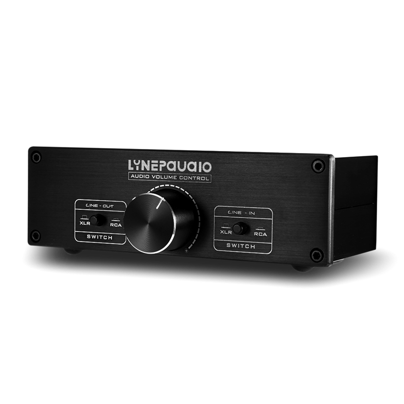 FFYY-Lynepauaio 2 In 2 Out Switcher Volume Controller, Switching Between Rca Signal And Xlr Balanced Signal, Which Is Suitable F