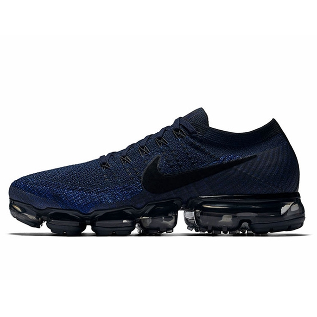 Original Authentic Nike Air VaporMax Be True Flyknit Men's Running Shoes Outdoor Sports Shoes Classic Breathable 849558-007