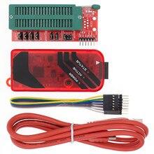 Pickit3 pickit 3 programador offline, programação pic microcontrolador de chip monopólio + adaptador programador pic de assento