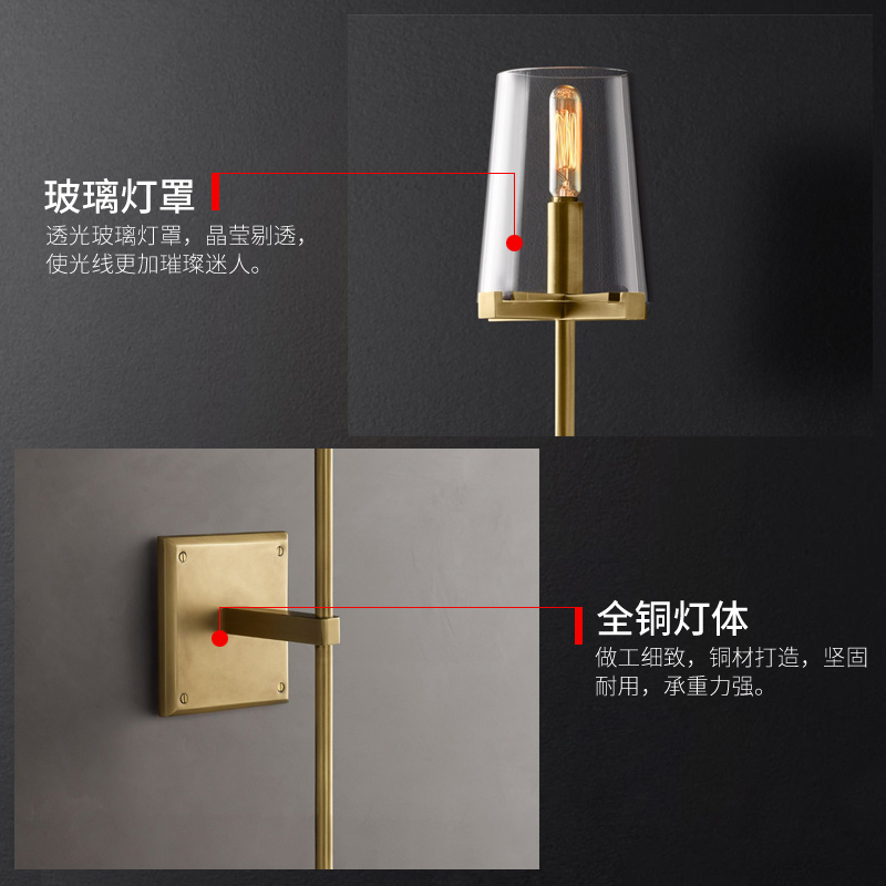 Hd5d50f64b5aa41a38b7a7e8f32c51ca2A - Modern Simple Gold Wall Lamp Vintage Loft Decor Light Fixtures for Home Bedroom Living Room Corridor Stairs Industrial Lighting