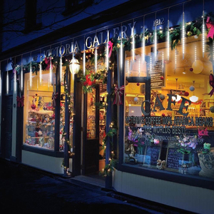 Image 3 - 8pcs/Set 30 50cm Colorful Meteor Shower Rain Tubes Warm White LED String Light for Garden Tree Wedding Party Holiday Decor