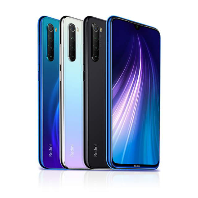 "In Stock Global ROM Xiaomi Redmi Note 8 4GB 64GB 48MP Quad Camera Smartphone Snapdragon 665 Octa Core 6.3"" FHD Screen 4000mAh 5"