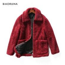 piel chaqueta abrigo borgoña