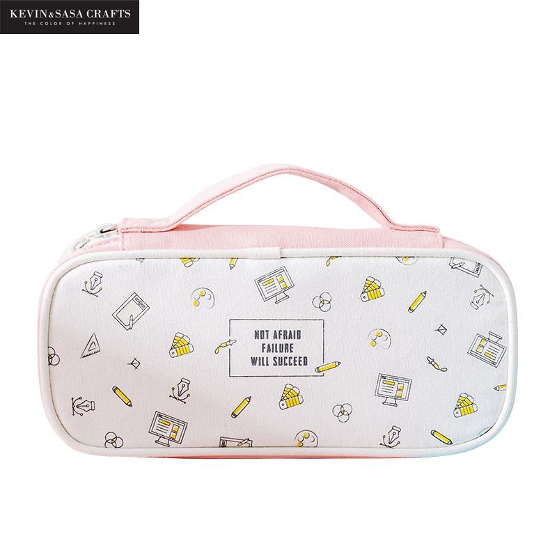 Large Capacity Pencil Case School Supplies Stationery Gift School Tools Pencilcase Back To School Presented By Kevin&Sasa Crafts