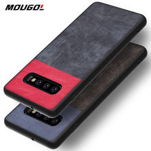 For Samsung S10 Phone Case Shockproof Cover Denim Cloth Fabric Silicone For Samsung Galaxy S7 Edge S8 S9 S10 5G Plus S10e Lite shockproof tpu hard pc case for samsung galaxy s10 plus s10e s10 5g s10plus cases dual hybrid back cover with bracket capa
