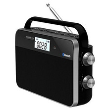 Portable DSP digital radio FM/AM band high sensitivity broad
