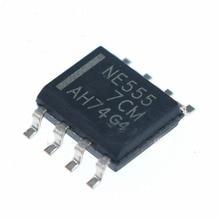 20pcs/pcs NE555DR NE555 SOP 8 Original Time Base Circuit New Patch