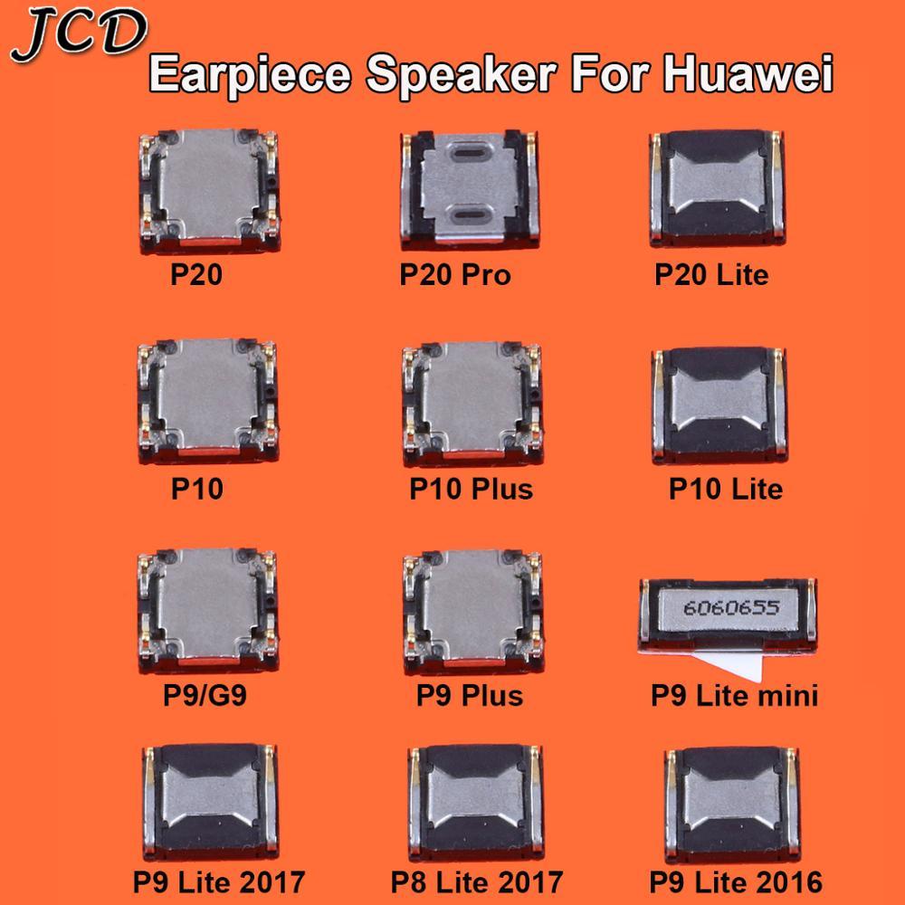 JCD 2PCS New Top Front Earpiece Ear Piece Speaker For HuaWei P20 Pro P10 P9 Plus Mini P8 Lite 2017 Replace Parts