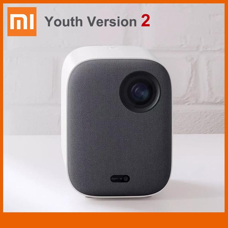 Портативный мини-проектор Xiaomi Mijia, молодежная версия 2, 1080P, поддержка 4K видео, 460 ANSI-люмен, Full HD проектор для домашнего кинотеатра