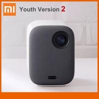 Xiaomi-miniproyector portátil Mijia, versión juvenil 2, 1080P, compatible con vídeo 4K, 460 lúmenes ANSI, Full HD, para cine en casa