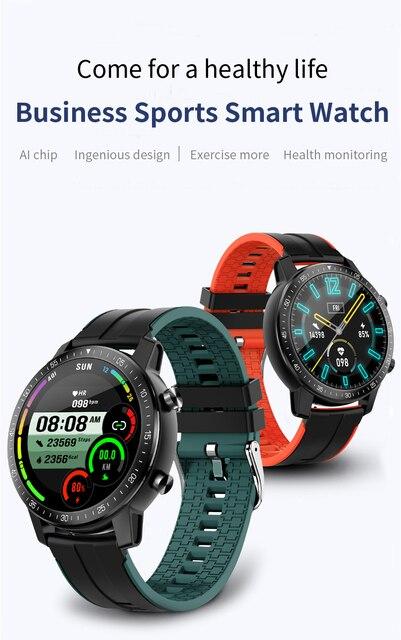 SENBONO 2020 S30 Heart Rate/Blood Pressure Monitoring Smart Watch IP68 Waterproof Men's and Women's Sport Tracker Smart Bracelet 2