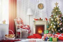Vinyl Custom Photography Backdrops Prop Christmas day Christmas Tree Theme Photo Studio Background ST-0355 5x7ft valentine s day or wedding wall backdrop vinyl photography photo background studio prop