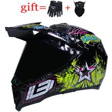 Profesjonalny kask off-roadowy ABS kask zjazdowy moto rcycle kask motocrossowy kask pełna twarz kask casco moto tanie tanio MM (pochodzenie) Helmets Unisex Carbonfiber 1 4kg