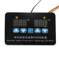 Cyfrowy Regulator temperatury Mini mikrokomputer Regulator cyfrowa regulacja temperatury sterownik czasowy ZFX W1011 w Moduły automatyki domowej od Elektronika użytkowa na
