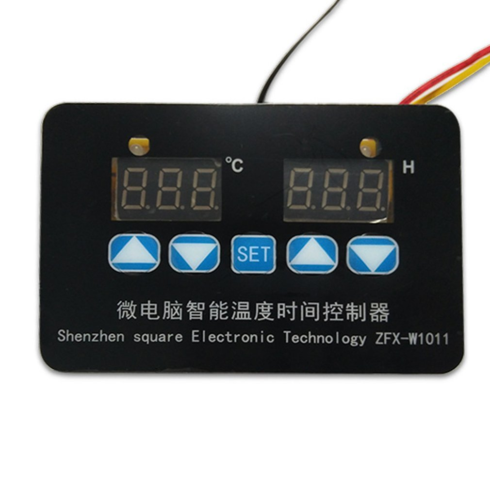 Digital Temperature Controller Mini Microcomputer Regulator Digital Adjustable Temperature Time Controller   ZFX-W1011
