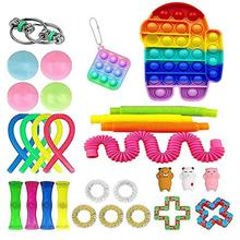 Fidget Toys Anti Stress Set Stretchy Strings Gift Pack Sensory Antistress Adult Child Decompression simpl dimmer Toys