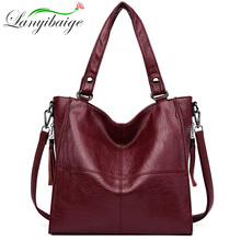 2019 Women Leather Handbags High Quality Top-handle Bags Female Soft Leather Sho