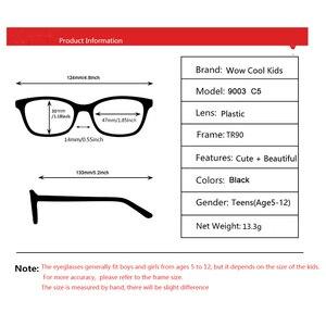 Image 5 - Çocuklar gözlük TR90 esnek gözlük çerçevesi çocuk siyah çocuklar optik gözlük erkek gözlük spor gözlük çocuk gözlük