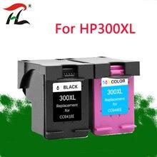 YLC 300XL заменяемая Замена чернильных картриджей для hp 300 с чернилами hp Deskjet D1660 D2560 D2660 D5560 F2420 F2480 F2492 F4210