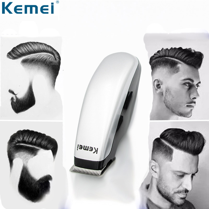 Kemei KM-666 Newly Design Electric Hair Clipper Mini Hair Trimmer Cutting Machine Beard Barber Razor For Men Style Tools