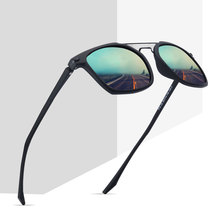 2019 Brand Design Classic Polarized  Sunglasses Men Driving Tr90 Frame