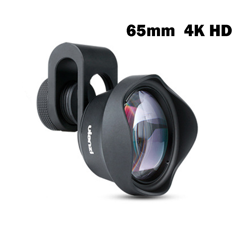 Professional 65mm 4K HD Telephoto Lens Portrait Phone Telephoto Lens High Quality No Distortion For IPhone Samsung Smartphone image