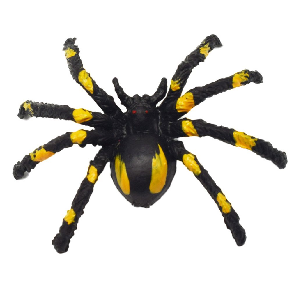 New Strange Simulation Mini Mouse Spider Model Mischievous Horror Scary Toy Halloween Toy Safe And Non-Toxic