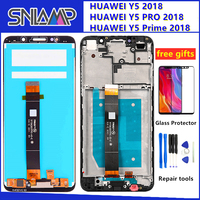 Original LCD for Huawei Y5 prime 2018 LCD Display Touch Screen Digitizer Assembly With Frame For Huawei Y5 Pro 2018 LCD Screen   -