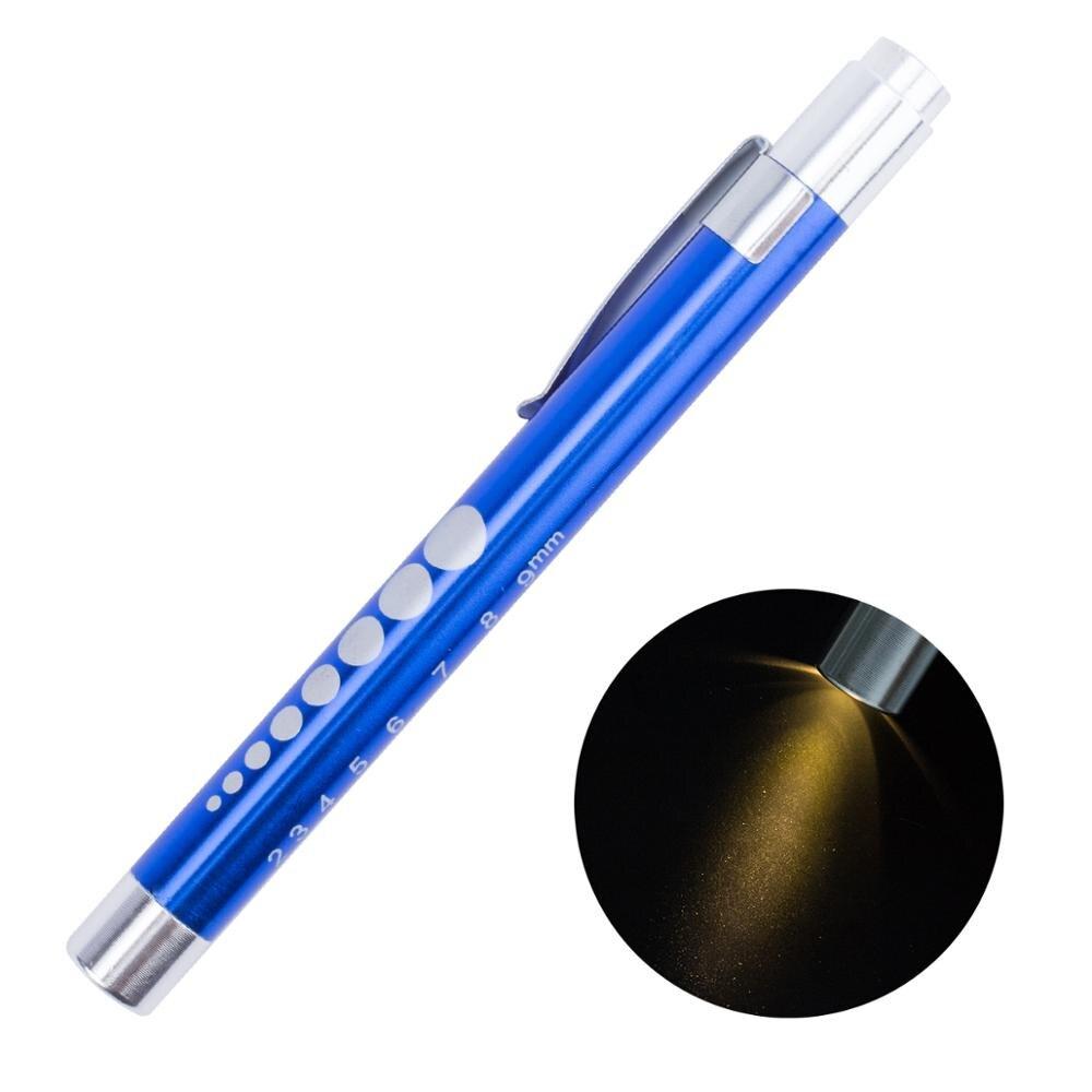 Details about  /1PC LED Pen Light Pupillary Oral Cavity Examination Penlight Creative Ear Examin
