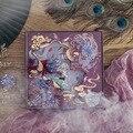 Vintage Chinesische Floral Phoenix Thema Blume Papier Pack DIY Hintergrund Dekoration Journal TN Kugel Tagebuch Liefert Freies Verschiffen Schreibwaren-Aufkleber    -