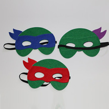 Children Turtles Cosplay Mask Dress-Up Costume Kids Eye Masks for Christmas Party new turtles armor toy weapons turtles shell children birthday gifts lovely party masks cosplay mask gifts for children