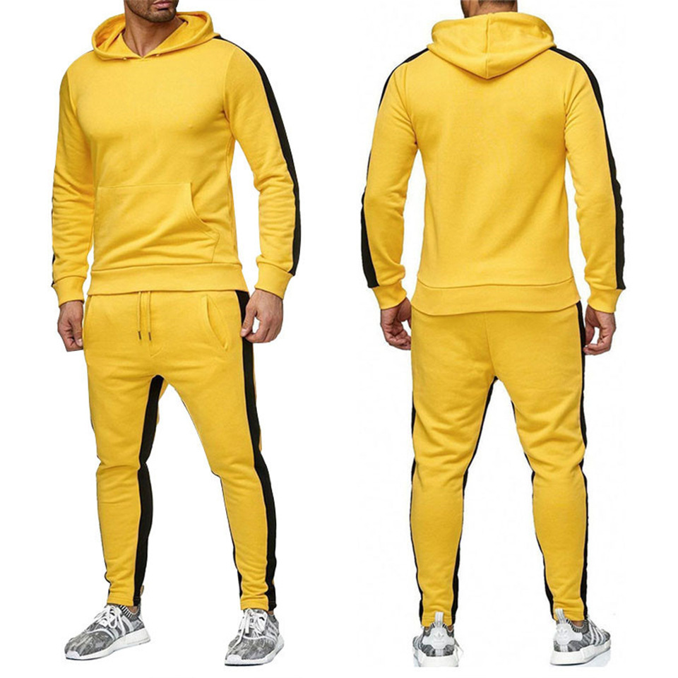 2019 Autumn And Winter Most New Style Sports Brand Hoodie Suit Men And Women Fitness Casual Loose-Fit Ouma Hoodie Set